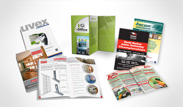 Brochures, Catalogues, Flyers & Leaflets